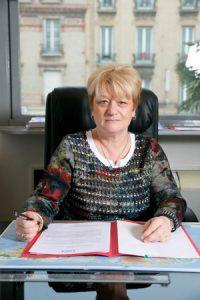 Brigitte Palat Présidente de la MDE Rives de Seine